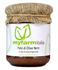 Patè di olive nere - Myfarmitalia Az. Agr. Siciliano
