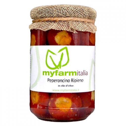 Peperoncino ripieno - Myfarmitalia Az. Agr. Siciliano