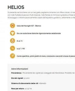Helios Isola dei Nuraghi IGT Bianco - Cantina Carboni