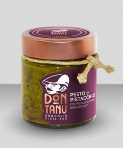 Pesto di pistacchio verde di Bronte DOP 190 g - Don Tanu