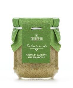 Crema di Carciofi alle Mandorle - Olio Diliberto