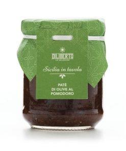 Paté di Olive al Pomodoro - Olio Diliberto