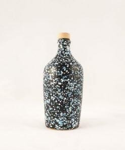 Orcio ceramica scura pugliese azzurro