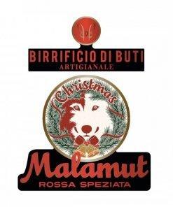 Birra rossa speziata scura Malamut Christmas - Birrificio di Buti