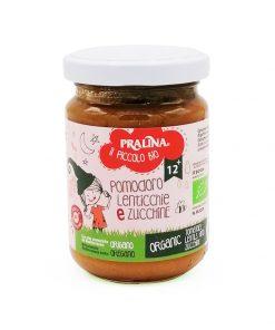 Baby Food Cremina di Pomodoro, Lenticchie e Zucchine - Pralina