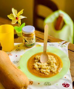 Baby Food Cremina di Zucca, Ceci e Formaggio - Pralina